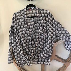 Vince Camuto Wrap front blouse